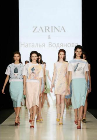 Zarina и Наталья Водянова