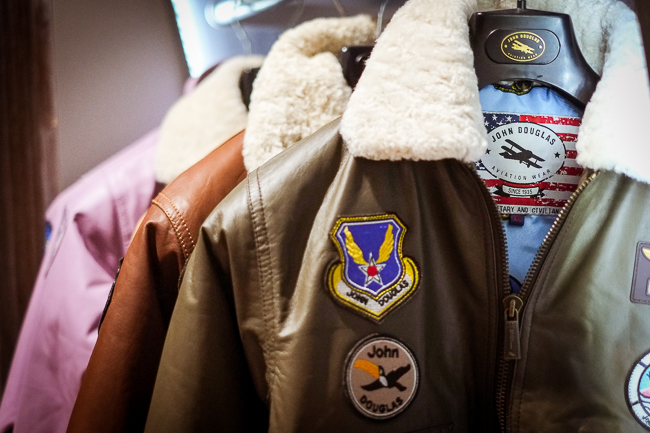 авиционная куртка John Douglas