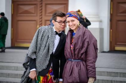 Тим Ильясов и стилист Анна Антонова