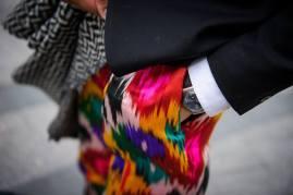 брюки из иката Yekaterina Ivankova