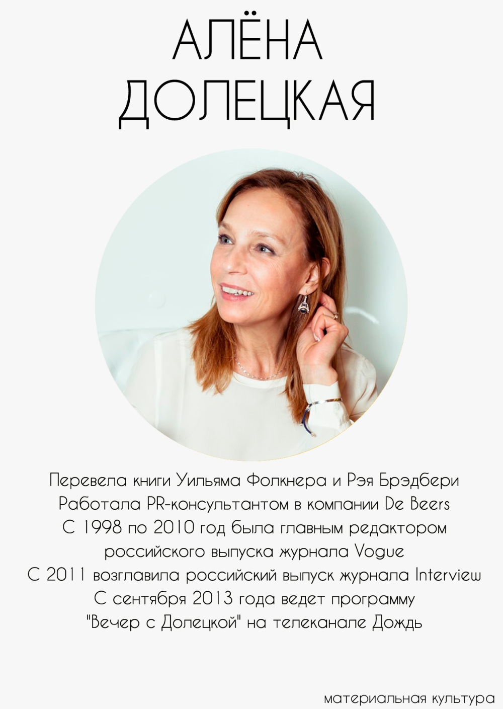 Алена Долецкая