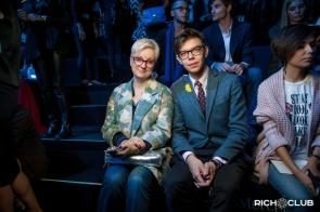 Тим Ильясов и дизайнер Виктория Ирбаиева