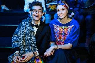 Тим Ильясов и стилист Анна Антонова.фото Марина Зернова