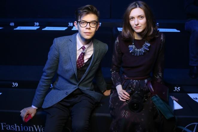 Тим Ильясов и стилист Анна Антоновафото Илья Колесов