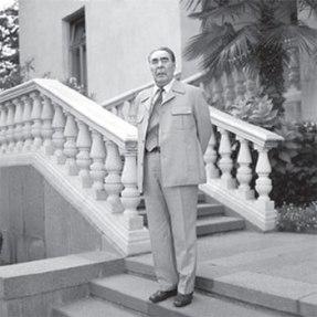Л.И. Брежнев в костюме от Игманда