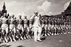 парад физкультурников