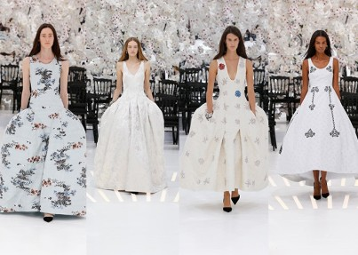 Раф Симонс для Dior fall winter 2015