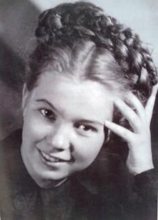 Раиса Горбачева в молодости