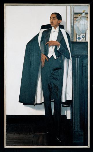 Yeshwant Rao Holkar II of Indore by Bernard Boutet de Monvel, Paris, 1929