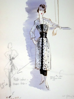 Edith Head sketch for Mary Anderson in To Each His Own (1946)