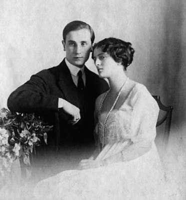 Феликс Юсупов и Ирина Юсупова (Романова)
