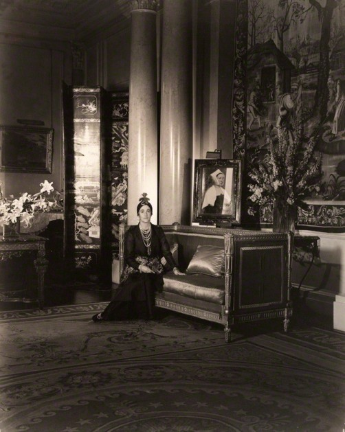 by Cecil Beaton, vintage contact print from 10 x 8 inch negative, 1920s