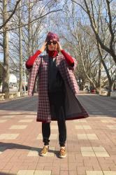 Первая коллекция трикотажных кимоно Таси Фединой