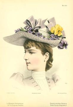 """""""Вестник моды для модисток"""" 1890 год"""